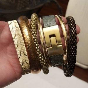 Bangle and Bracelet Bundle, 1 Leighelena